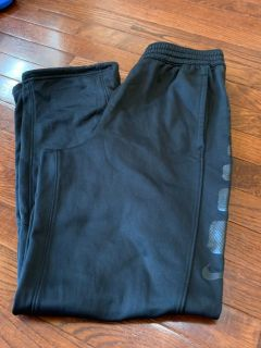 Nike Dri-Fit Black pants YXL