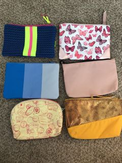 never used makeup bags