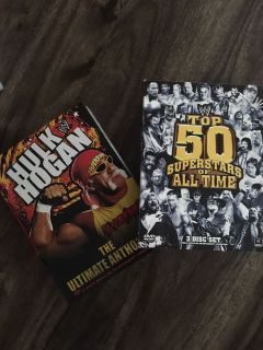 Wresting dvd collections