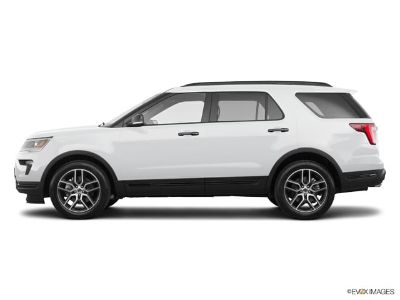 2019 Ford Explorer Sport (white)