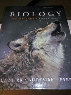 $25 OBO Biology: Life on Earth with Physiology Textbook - LIKE NEW
