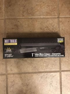Hot Tools crimper (NEW- never used) ($35 new)