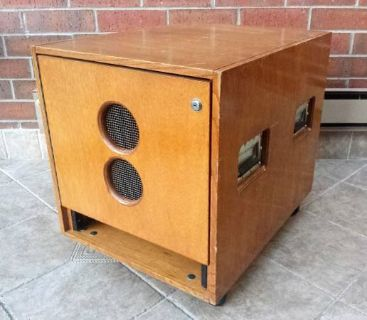 Classic Cases Wood ATA Rack Fight Case with Wheels Studio PA System