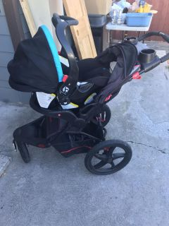 Babytrend car seat and stroller