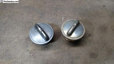 Gas cap for late model Beetle