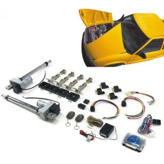 Sell Automatic Split Hood Kit with Remotehardware hinge reinforcement custom motorcycle in Portland, Oregon, United States, for US $556.79