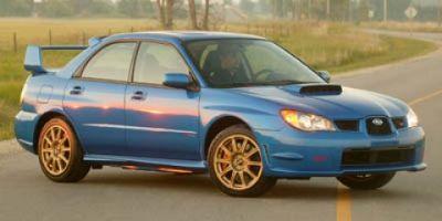2007 Subaru Impreza WRX STI (Satin White Pearl)