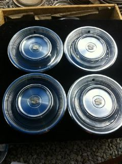 """Buy 15"""" 1968 69 Cadillac Hubcaps Wheel Covers Classic 03514671 motorcycle in Garland, Texas, US, for US $59.00"""