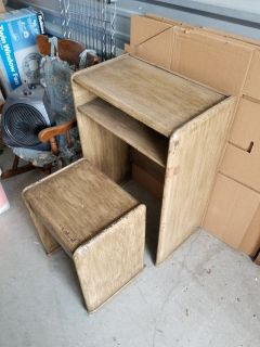 Telephone Table with Stool