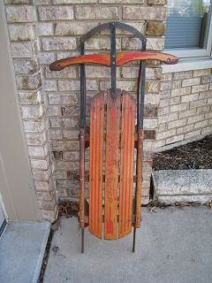 Vintage Royal Racer Snow Sled