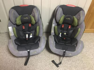 Evenflo Symphony LX All-In-One car seats