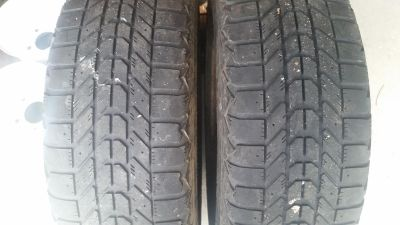 2 WinterForce tires 205/65/R15