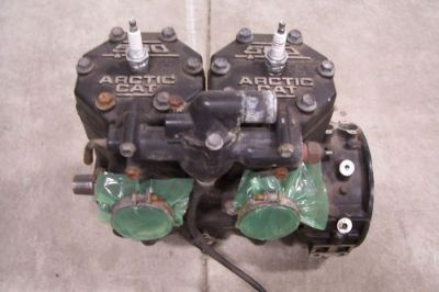Purchase ARCTIC CAT SNOWMOBILE 1995 PANTERA 580 SHORT BLOCK ENGINE 0662-150 motorcycle in Kaukauna, Wisconsin, United States, for US $700.00