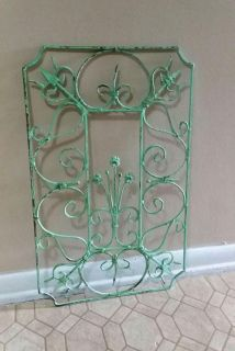 WROUGHT IRON/WALL DECOR.....EXCELLENT CONDITION