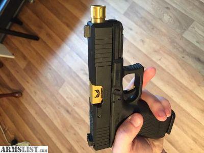 For Sale: custom gen 4 Glock 19