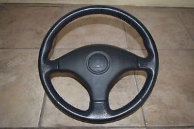 Sell JDM ORIGINAL OEM HONDA CIVIC EK3 EK4 SIR BLACK WITH RED STITCH STEERING WHEEL motorcycle in Franklin Park, Illinois, United States, for US $249.00