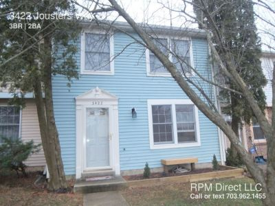 3 Bed/1.5 Bath TH in Woodbridge for Rent