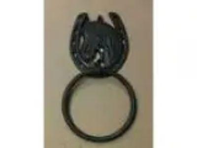 chidph- AJ Tools Cast iron horse facehorse shoe towel hanger