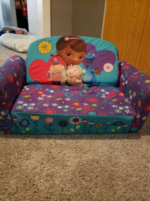Doc McStuffins fold out couch