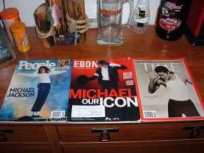 MICHAEL JACKSON MAGAZINES ,out of print