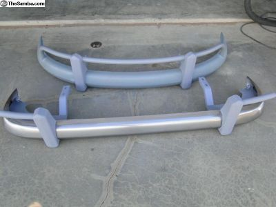 Bus Bumper Set Front & Rear 1959 to 1964 CALL