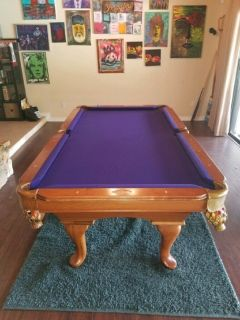 Beautiful 7' Proline Pool Table
