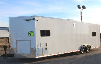 2019 26' Enclosed Trailer w/Living Quarters