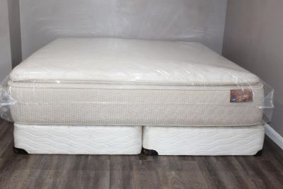 King Size Super Pillowtop Mattress - Spring Air Comfort Flex