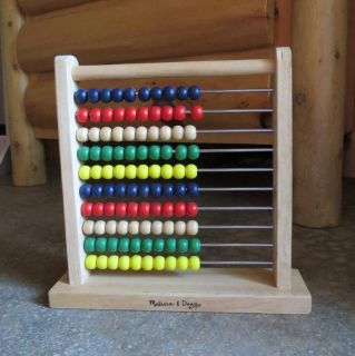 Melissa & Doug Wooden Counting Toy
