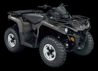 2016 Can-Am Outlander L DPS 450 Utility ATVs Oakdale, NY