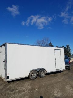 2017 E-Z Hauler Enclosed  20ft. Trailer