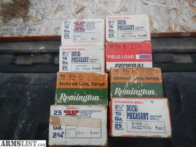 For Sale: 16 Gauge shotgun shells
