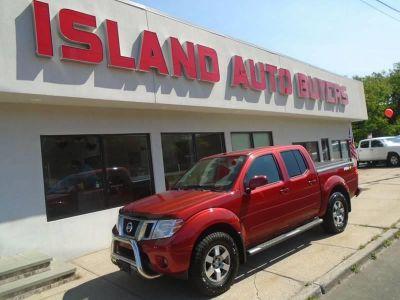 2013 Nissan Frontier S (Lava Red Metallic)