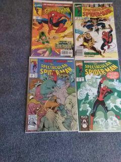 Spiderman comics $2 each