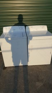 HOTPOINT washer & dryer(free delivery) credit card accepted