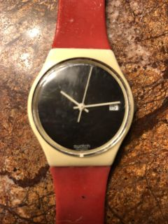 Vintage Swatch Watch - needs new band