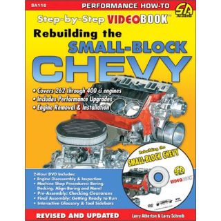 Purchase SA Designs SA116 Book Rebuilding the Small Block Chevy Paperback 160 pages motorcycle in Atlanta, Georgia, United States, for US $29.93