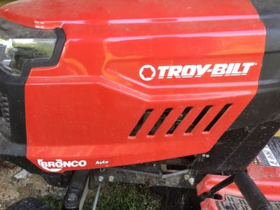 Troy-Bilt Bronco riding mower