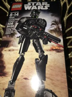 Star Wars action figure- Imperial Death Trooper- new in box