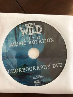 Free. In The Wild VBS 2019 Choreography DVD
