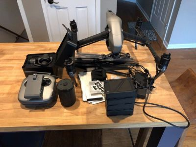 DJI Inspire 2 Quadcopter Drone Slightly