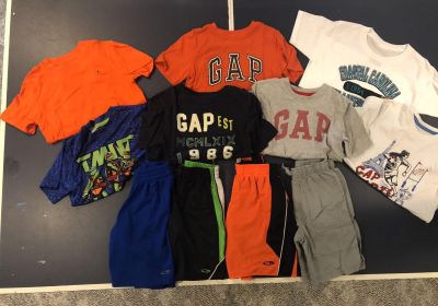 Boys Size 6/7 Shorts and T-shirts