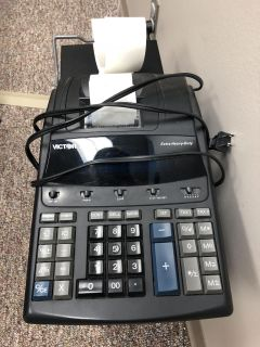 Calculator with paper