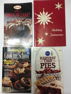 4 Cookbooks Price is for all