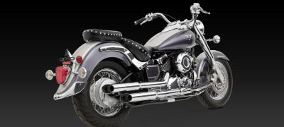 Sell Vance & Hines Exhaust Cruzers Chrome Yamaha Star V Star 650 (49-State) 2004-2005 motorcycle in Pomona, California, US, for US $377.95