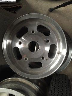 Vintage Ansen 5 lug wheels
