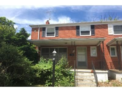 3 Bath Preforeclosure Property in Baltimore, MD 21239 - Queens Ferry Rd