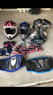 Dirt Bike Riding Gear, Helmets & Accessories