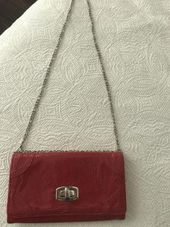 Red purse - like new