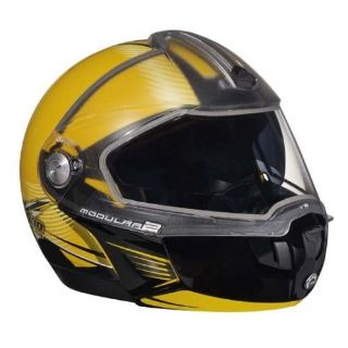 Buy Ski-Doo Modular 2 Genuine Helmet - Yellow motorcycle in Sauk Centre, Minnesota, United States, for US $150.00